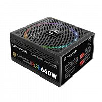 Блок питания Thermaltake ATX 650W Toughpower Grand RGB Sync 80+ gold (24+4+4pin) APFC 140mm fan color LED 9xSATA Cab Manag RTL