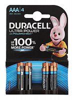 Батарея Duracell Ultra Power LR03-4BL MX2400 AAA (4шт)