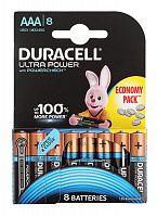 Батарея Duracell Ultra Power LR03-8BL MX2400 AAA (8шт)
