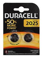 Батарея Duracell DL/CR2025 CR2025 (2шт)