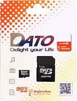 Флеш карта microSDXC 64Gb Class10 Dato DTTF064GUIC10 w/o adapter