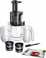 Соковыжималка шнековая Bosch MESM500W 150Вт рез.сок.:1000мл. белый