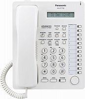 Системный телефон Panasonic KX-AT7730RU белый