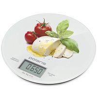 Весы кухонные электронные Polaris PKS 0835DG Caprese макс.вес:8кг рисунок