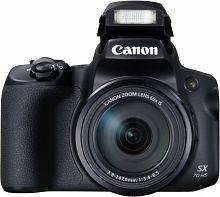 "Фотоаппарат Canon PowerShot SX70 HS черный 20.3Mpix Zoom65x 3"" 4K SDXC CMOS 1x2.3 IS opt turLCD rotLCD VF 10fr/s RAW 29.97fr/s HDMI/WiFi/LP-E12"