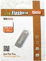Флеш Диск Dato 8Gb DS7016 DS7016-08G USB2.0 серебристый