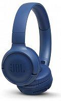 Гарнитура накладные JBL T500BT синий беспроводные bluetooth оголовье (JBLT500BTBLU)