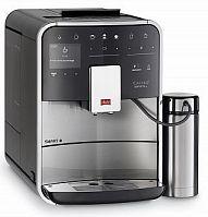 Кофемашина Melitta Caffeo F 860-100 1450Вт серебристый/черный