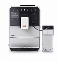 Кофемашина Melitta Caffeo F 830-101 1450Вт серебристый/черный