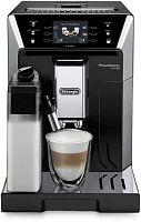 Кофемашина Delonghi PrimaDonna Class ECAM550.55 1450Вт серебристый/черный