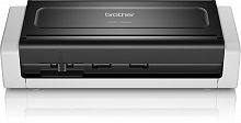 Сканер Brother ADS-1700W (ADS1700WTC1) A4 серый/черный