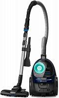 Пылесос Philips PowerPro Active FC9573/01 1900Вт черный/синий