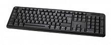 Клавиатура Hama Verano черный USB slim
