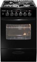 Плита Комбинированная Лысьва ЭГ 1/3г01 МС-2у черный (стеклянная крышка)