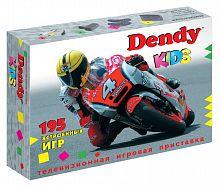Игровая консоль Dendy Kids черный в комплекте: 195 игр