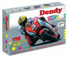 Игровая консоль Dendy Kids черный +контроллер в комплекте: 195 игр