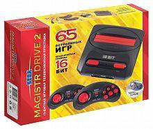 Игровая консоль Magistr Drive 2 Little черный в комплекте: 65 игр