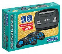 Игровая консоль Magistr Drive 2 Little черный в комплекте: 98 игр
