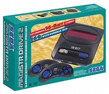 Игровая консоль Magistr Drive 2 Little черный +контроллер в комплекте: 160 игр
