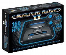 Игровая консоль Magistr Drive 2 черный +контроллер в комплекте: 160 игр