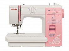 Швейная машина Janome HomeDecor 1023 белый/розовый