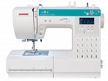 Швейная машина Janome HomeDecor 6180 белый/зеленый