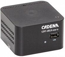 Ресивер DVB-T2 Cadena CDT-1813 черный