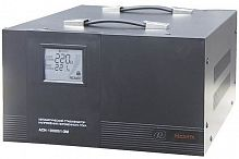 Стабилизатор напряжения Ресанта АСН-10000/1-ЭМ электромеханический однофазный черный