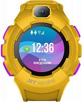 "Смарт-часы Jet Kid Gear 50мм 1.44"" TFT фиолетовый (GEAR YELLOW+PURPLE)"