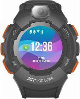 "Смарт-часы Jet Kid Gear 50мм 1.44"" TFT серый (GEAR ORANGE+GREY)"