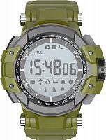 """Смарт-часы Jet Sport SW3 51мм 1.2"""" LCD серый (SW-3 GREEN)"""