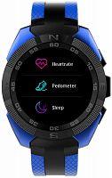 """Смарт-часы Jet Sport SW-7 55мм 1.54"""" IPS синий (SW-7 BLUE)"""