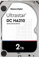 "Жесткий диск WD Original SATA-III 2Tb 1W10002 HUS722T2TALA604 Ultrastar DC HA210 (7200rpm) 128Mb 3.5"""