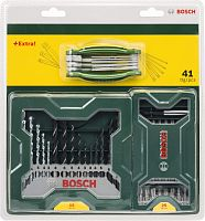 Набор бит и сверл Bosch 2607017333 универсал. (41пред.) для шуруповертов