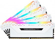 Память DDR4 4x16Gb 3200MHz Corsair CMW64GX4M4C3200C16W RTL PC4-25600 CL16 DIMM 288-pin 1.35В