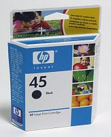 Картридж струйный HP 45 51645AE черный (930стр.) для HP DJ 7xxC/815C/880C/895C/9xxC/112xC/1220/6122/6127