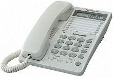 Телефон проводной Panasonic KX-TS2362RUW белый