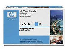 Картридж лазерный HP 641A C9721A голубой (8000стр.) для HP 4650/4650dn/4650dtn/4650hdn/4650n
