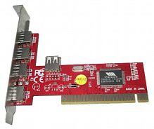 Контроллер PCI VIA6212 (4+1) 5xUSB2.0 Bulk