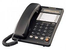 Телефон проводной Panasonic KX-TS2365RUB черный