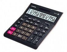Калькулятор настольный Casio GR-16 черный 16-разр.