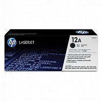 Картридж лазерный HP 12A Q2612A черный (2000стр.) для HP LJ 1010/1012/1015/1018/1020/1022
