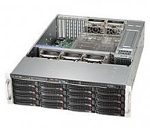 Корпус SuperMicro CSE-836BE1C-R1K03B 2x1000W черный