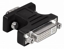 Адаптер Hama H-34624 00034624 VGA (m) DVI (f) 0.05м блистер