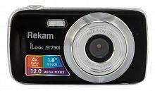 "Фотоаппарат Rekam iLook S750i черный 12Mpix 1.8"" SD/MMC CMOS/AAA"