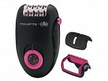 Эпилятор Rowenta EP2832F0 скор.:2 насад.:2 от электр.сети черный/розовый