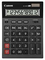Калькулятор бухгалтерский Canon AS-444 черный 12-разр.