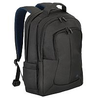 """Рюкзак для ноутбука 17"""" Riva 8460 черный полиэстер (8460 BLACK)"""