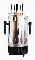 Шашлычница электрическая Kitfort KT-1405 900Вт серебристый
