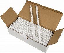 Пружины для переплета пластиковые Fellowes d=12мм 56-80лист A4 белый (100шт) CRC-53462 (FS-53462)